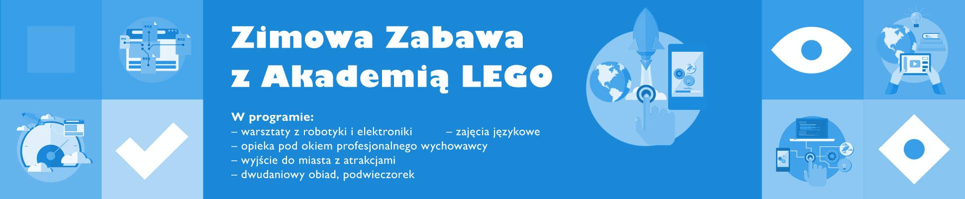 Zimowa zabawa z Akademią LEGO